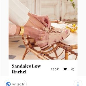 "30ba8a19decc Sezane Shoes - Sézane Sandales in ""Low Rachel"""